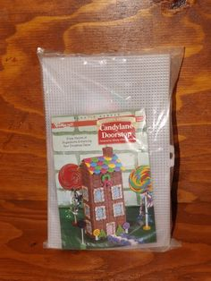 Buy Vintage Candyland Doorstop - L 493 by minealways. Explore more products on http://minealways.etsy.com