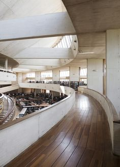 Galería de Clásicos de Arquitectura: Biblioteca Virgilio Barco / Rogelio Salmona… Architecture Details, Stairs, Places, Photography, Libraries, Cities, Museum, Wallpapers, 3d
