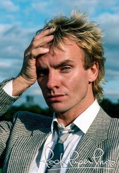 Sting New York City 1983 BY RICHARD CORMAN