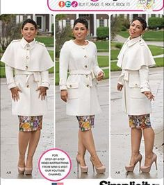 Simplicity Patterns Us1016Bb-Simplicity Misses'& Plus Size Coat By Mimi G Style-20W-28W