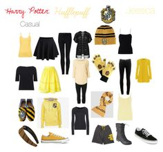"""Hufflepuff"" by risingtide13 on Polyvore featuring Verpass, Wolford, WearAll, Brinley Co., rag & bone, T By Alexander Wang, USA Pro, Witchery, Vivienne Westwood Anglomania and Dorothy Perkins"