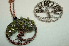Wireworking | Funky Hannahs - I want to learn how to make this someday.