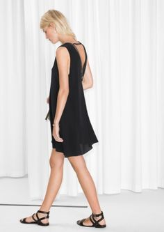 & Other Stories image 3 of Mini Dress in Black