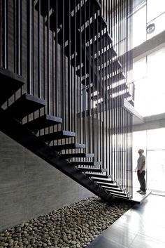 Ferreteria O´Higgins / GH+A | Guillermo Hevia/ Parallel Lines, Stairs, Architecture, Metal, Buildings, Rectangles