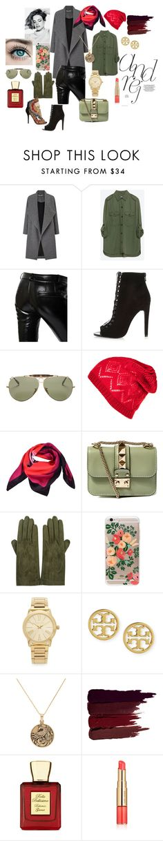 """Modern Urban Legend - Anastasia Romanow"" by supersilent on Polyvore featuring moda, Miss Selfridge, Zara, Each X Other, River Island, Ray-Ban, Valentino, Sermoneta, Rifle Paper Co i Balmain"