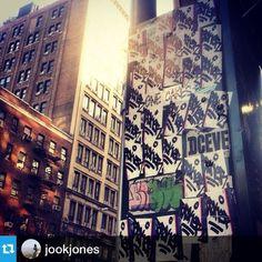 @jookjones ・・・30-0  #fbf #stickers #nycstickers #handmade #NEVERprinted #nyc #ups #morethanyou #ONEMANGANG #broker
