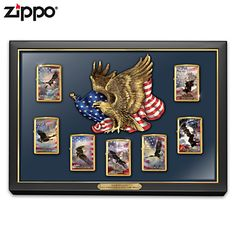 Let Freedom Light The Way Zippo Lighter Collection
