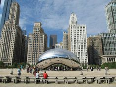 """Chicago, Illinois  """"The Bean"""" - best vacation ever"""