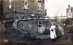 cool old WW1 tank