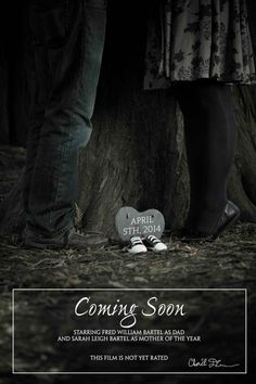 Birth Announcement / Pregnancy Announcement / Pregnancy Reveal www.cduncanphoto.com