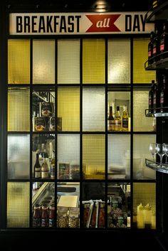glass partition! love it