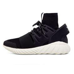 sports shoes 442f3 209ae Adidas Mens Originals Tubular Doom Primeknit Black grey Sneakers S74921