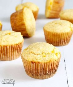 Get this tested, easy-to-follow recipe for gluten free Jiffy-style corn muffin mix—make your own mix and always have it ready! #JamiesGlutenfreerecipes