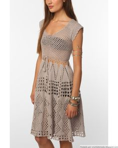 Nice crocheted Dress!