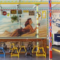 """Sydney's Palm Beach welcomes Uncle Cranky and his surf shack """"Cranky Fins Holidae Inn""""... http://www.we-heart.com/2015/03/24/cranky-fins-holidae-inn-sydney-palm-beach/"""