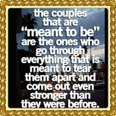 We r strong.. Not even AG could break up our marriage