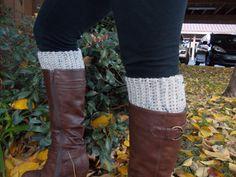 Crochet Boot Cuffs  Leg Warmers  Knee Warmers by GabysSchaufenster, $15.00