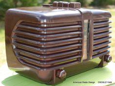 Radios, Nostalgia Art, Antique Radio, Tv, Art Deco, Mid Century, Oral History, Crystals, Antiques
