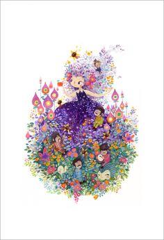Lorena Alvarez Gómez - Print - Cellophane Flowers - Nucleus   Art Gallery and Store