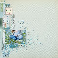 #scrapbook #layout ⊱✿-✿⊰ Follow the Scrapbook Pages board & visit GrannyEnchanted.Com for thousands of digital scrapbook freebies. ⊱✿-✿⊰