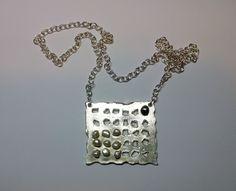 Collar con plata y perlas