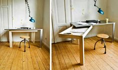 Smart Furniture | 5 Awesome Furniture Ideas (multi-function) | http://www.godownsize.com/smart-office-furniture-small-home/