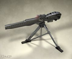 deviantART: More Like Shadowrun Crossbow SMG by raben-aas