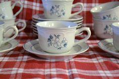 DEAL OF WEEK Vintage Covington Edition Avondale Cups and Saucers Set of 10 Japan PanchosPorch