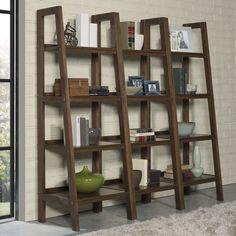 "Sawhorse 72"" Leaning Bookcase"