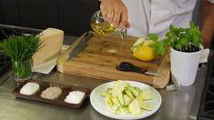 Zucchini, Parmesan and Basil Salad