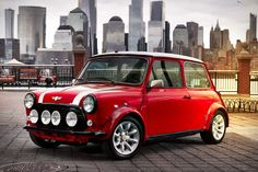 Built as a one-off for the New York International Auto Show, this Classic Mini Electric Car offers a glimpse of the company's future through the lens of the past. The instant power offered by the electric motor is ideally suited...