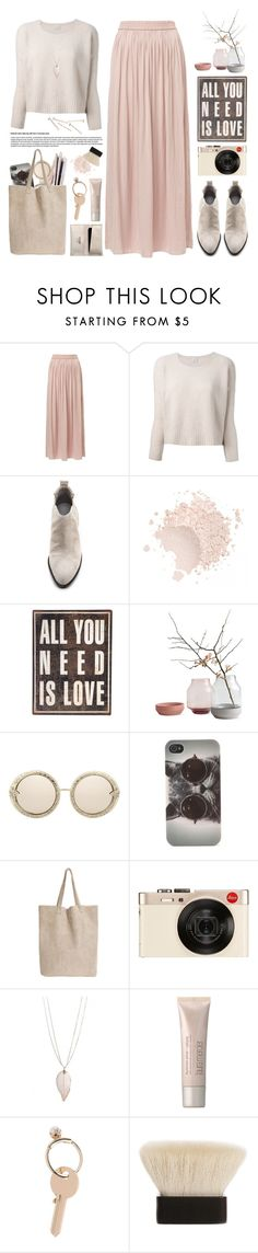 """""""All you need is love."""" by yexyka ❤ liked on Polyvore featuring Pinko, Alexander Wang, With Love From CA, Monserat De Lucca, Leica, Laura Mercier, Maison Margiela and Claudio Riaz"""