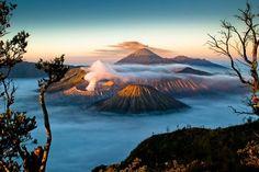 Agent Of Change: Sunrise and Walking Up Mount Bromo