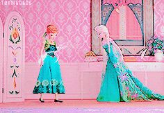 ❤️❄️Frozen fever❄️❤️ THEY'RE RIDING THEIR BIKE AROUND THE HALLS I'M CRYING AND HAVE BEEN SINCE THIS CAME OUT