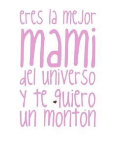 Y es que madre no hay más que una! #FelizDíadelaMadre !