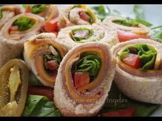 Rollitos de Sanwiches