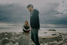 Lovers of Land and Sea fleece lined surf hoodie.