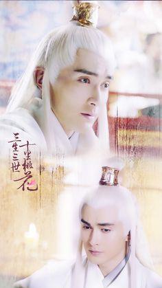 #东华帝君# China, Eternal Love Drama, Scarlet Heart, Fantasy Films, Peach Blossoms, Character Costumes, Drama Movies, Korean Drama, Kdrama