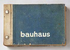 Die erste Bauhaus-Kollektion 1930, Musterbuch / screwpost / old