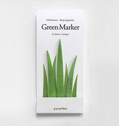 grass bookmark