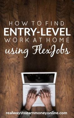 Are you looking for entry-level work at home jobs? In fact, that's one of the most common questions I get from people looking to find home-based work. Home Based Work, Legit Work From Home, Work From Home Tips, Make Money From Home, How To Make Money, Jobs For Women, Hobbies For Women, Earn Money Online, Online Jobs