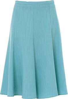 0085c17178 Womens Skirt 26 inches Length Plain Just Below Knee Half Elasticated Waist  Size 10 to 22: Amazon.co.uk: Clothing
