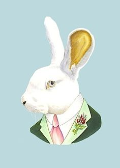 berkeley illustration | buyolympia.com: Ryan Berkley - White Rabbit