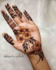 Palm Mehndi Design, Back Hand Mehndi Designs, Latest Bridal Mehndi Designs, Henna Art Designs, Mehndi Designs 2018, Stylish Mehndi Designs, Mehndi Designs For Beginners, Mehndi Designs For Girls, Mehndi Design Photos