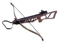 NEW ARCHERY HUNTING 185 FPS CAMO BOW Gun 120 LB CROSSBOW w/ ARROWS BOLTS