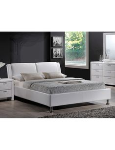 It is an economical solution for those who want to decorate their interiors interesting and inexpensively. Polish Signal Modern Furniture Store in London, United Kingdom Bedroom Furniture Sets, Bedroom Bed, Bedroom Decor, Bed Design, House Design, Modern Furniture Stores, Small Apartments, Bed Frame, Mattress