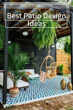 Let the fresh air flow whether you have a tiny, narrow patio or a large garden with our stylish outdoor patio design ideas. Check them out! small backyard patio design ideas   patio design ideas on a budget   #outdoorspaces   #modernpatiodesign   #patiodesignlayout #pergolas #SharpAspirant