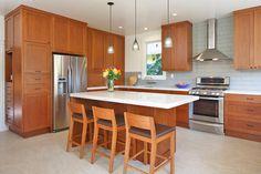 Modern Craftsmen Remodel - craftsman - kitchen - san francisco - 361 Architecture + Design Collaborative