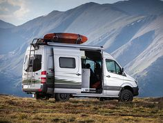 The all-new Winnebago Revel is designed specifically for active outdoor enthusiasts, an adventure-ready 4x4 off-road camper with some nice interior touches. Using a Mercedes-Benz Sprinter 4×4 platform as its blank canvas, the capable camper is equipp