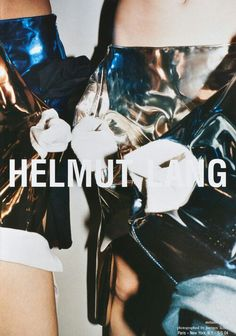 Helmut Lang S/S '04, photographed by Juergen Teller